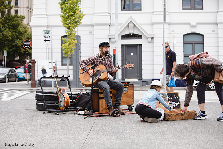 Local Hobart Musician credit Samuel Shelley