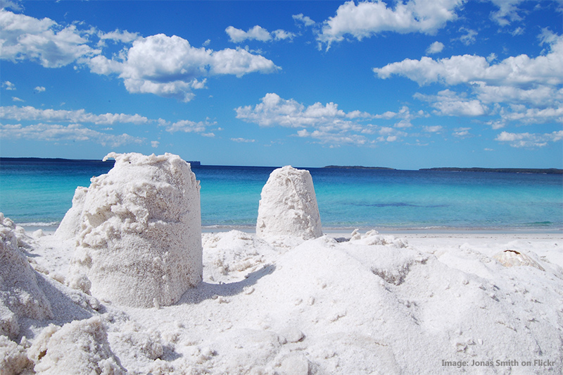 Hyams Beach credit Jonas Smith on Flickr