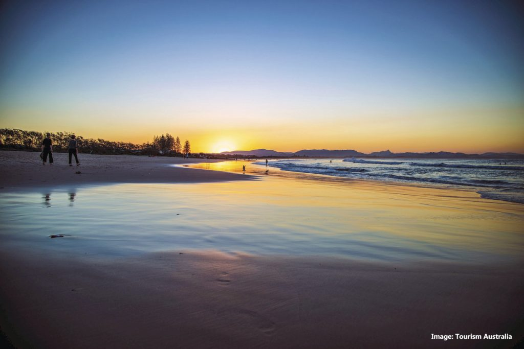 Main Beach, Byron Bay credit Tourism Australia