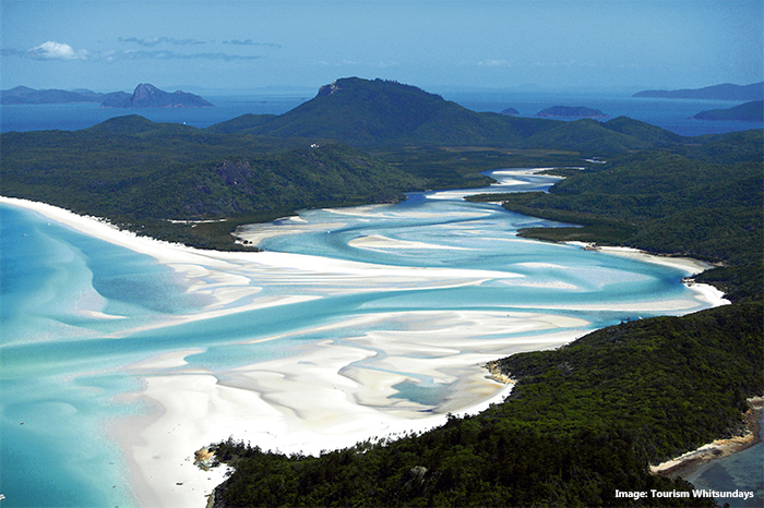 Whitehaven Beach credit Tourism Whitsundays