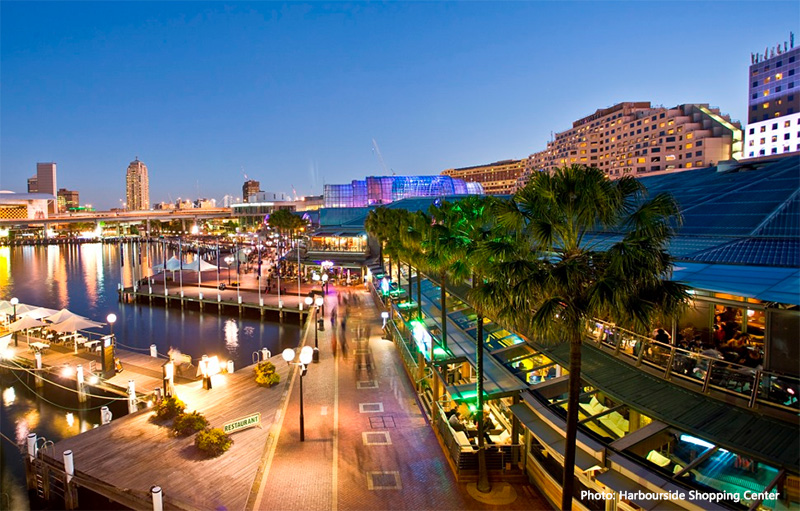 Harbourside Shopping Center credit HSC