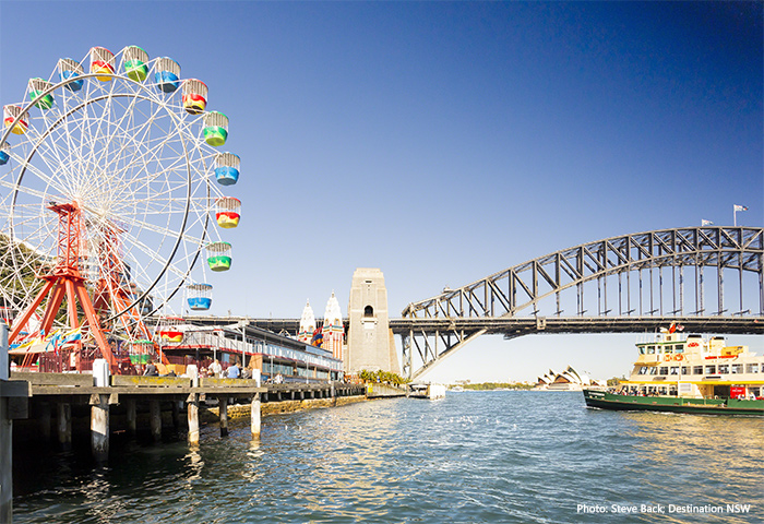 Luna Park, Milsons Point credit Steve Back and Destination NSW