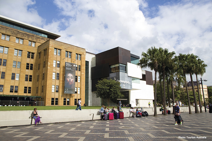 Museum of Contemporary Art Australia credit Tourism Australia