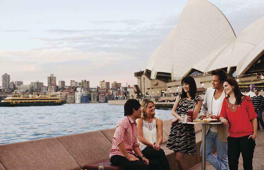 Australia travel at Opera Bar, Sydney credit Anson Smart Tourism Australia