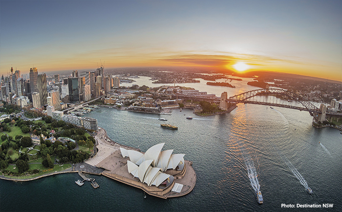 Sydney Harbour credit Destination NSW