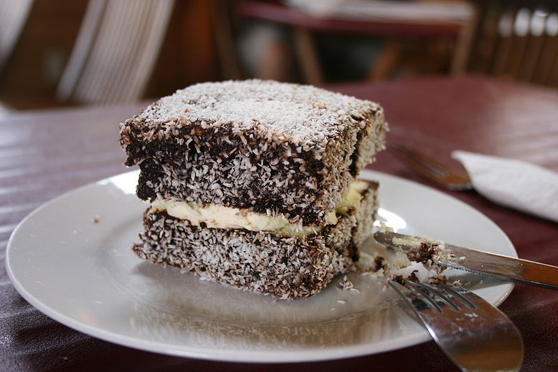 Lamingtons are an Australian food