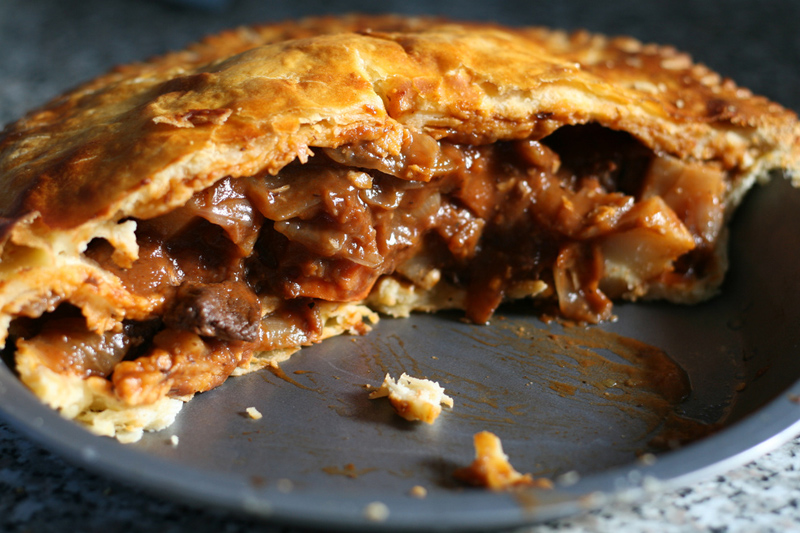 Meat pie is Australian food credit David McLeish