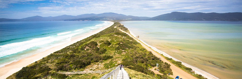 Neck Beach, Bruny Island Tasmania credit Tourism Tasmania