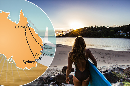 Gold Coast Great Barrier Reef Sydney Australia Deal Page