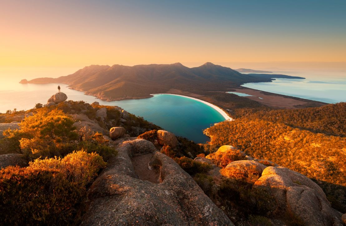 Wineglass Bay credit Tourism Tasmania