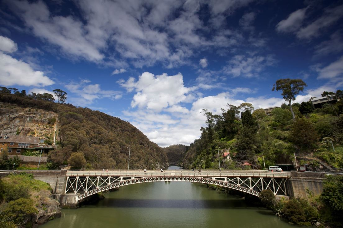 Cataract Gorge credit Pete Harmsen