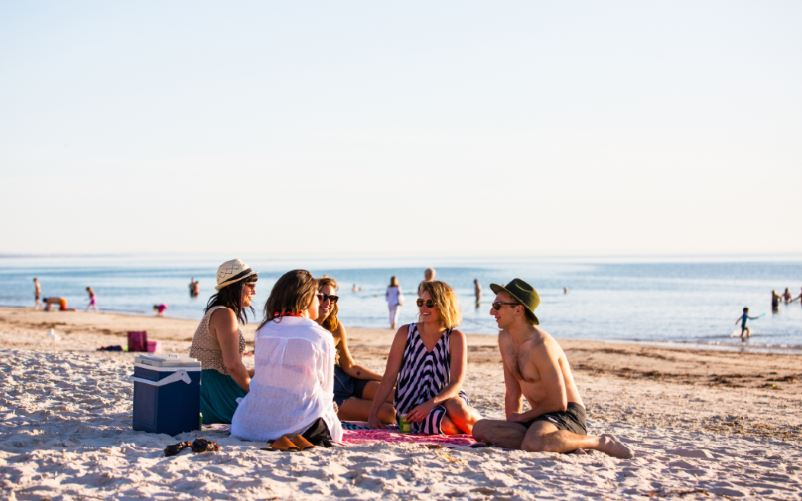 Henley Beach credit South Australian Tourism Commission